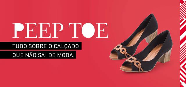 0b86c128d3 Peep Toe: tudo sobre o sapato que nunca sai de moda. - Giovanna
