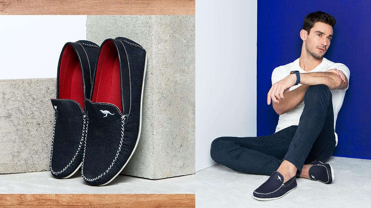 Seu pai é moderninho? Então ele vai amar a sofisticação dos sapatos mocassim #GiovannaCalçados! A partir de R$ 69,99 você leva o presente perfeito.