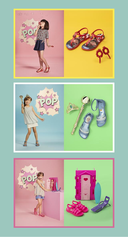 Tem brinde? Teeem! E diversão? Também! :D Na #GiovannaCalçados tem calçados pra lá de fofos com brindes! TUDO para deixar o look das princesinhas ainda mais lindo e divertido!