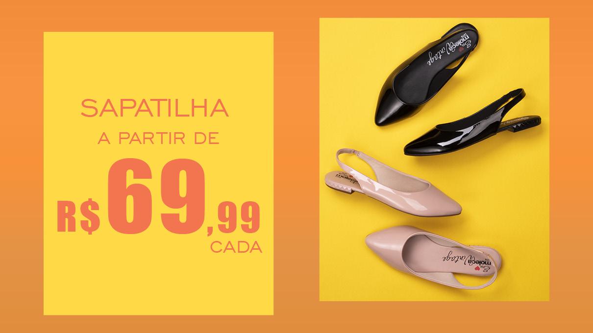 #ApostaDoVerão! A sapatilha é o calçados mais versátil que você pode ter no guarda-roupa. Perfeito para o seu dia a dia! Vem pra #GiovannaCalçados conferir! | Sapatilhas R$ 69,99 cada.